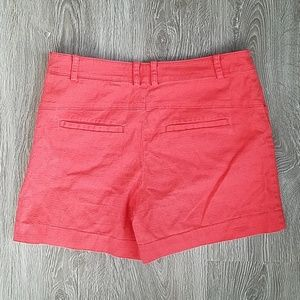 Anthropologie Shorts - Anthropologie coral shorts. Size 4.